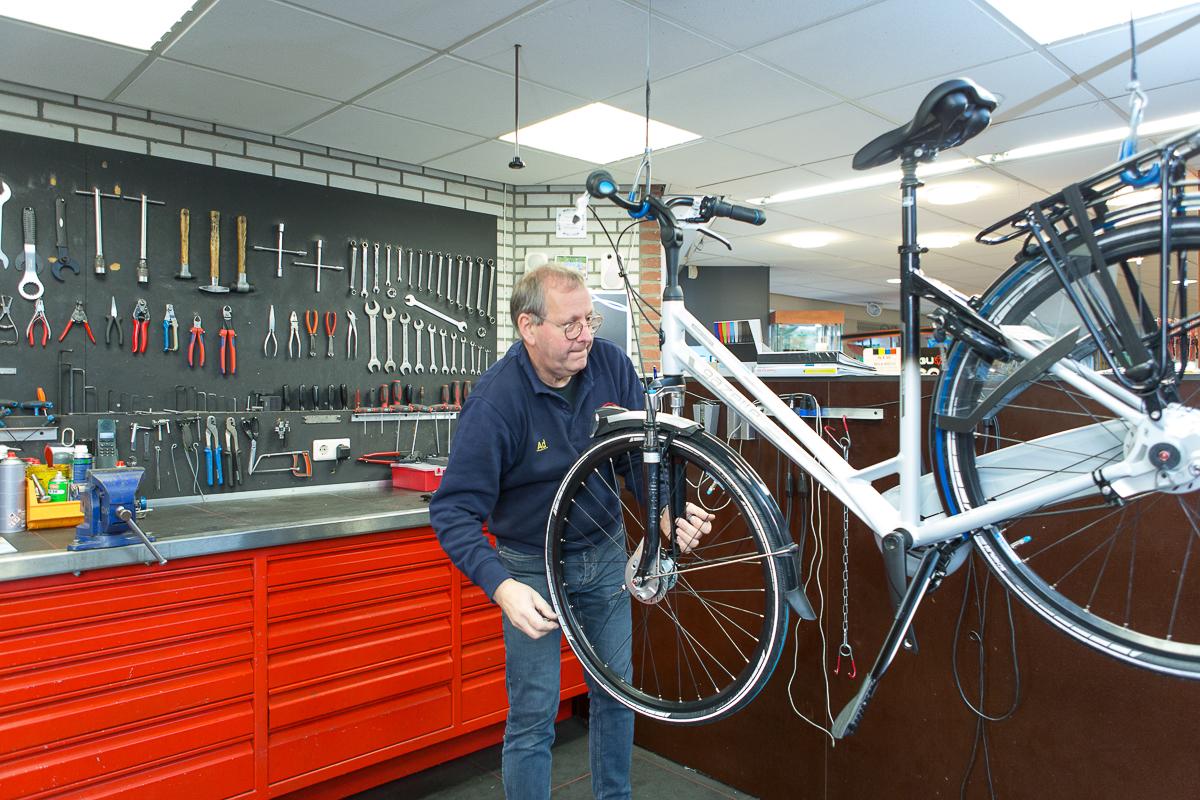 Onderhoud fiets